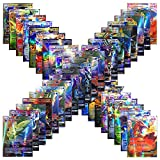 Carte Pokemon Jeux de Cartes 100 Cartes Pokemon PCS Style Carte Holo EX Full Art 59...