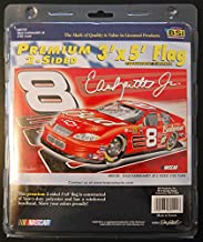 BSI Dale Earnhardt Jr #8 2002 Budweiser Car 3 x 5 Premium 2 Sided Flag