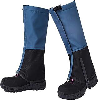 گترهای ساق بلند برقی ضد آب ، گترهای کفش برفی ضد آب ، گترهای قابل تنظیم برای تنفس تنفس گرم برای مردان زنان کفش برف در فضای باز ، پیاده روی ، شکار ، یخ نوردی ، اسکی