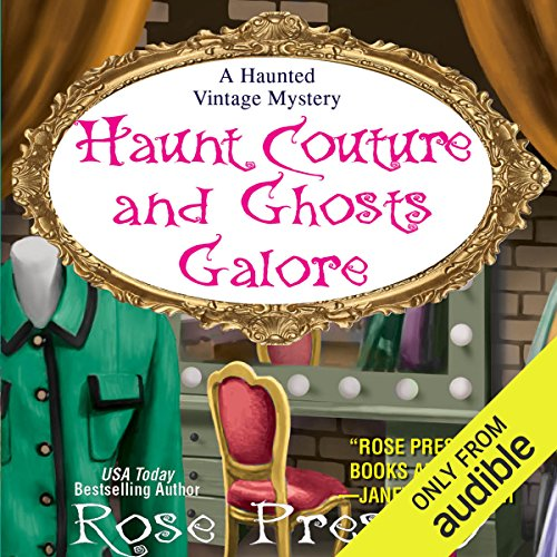 Haunt Couture and Ghosts Galore audiobook cover art