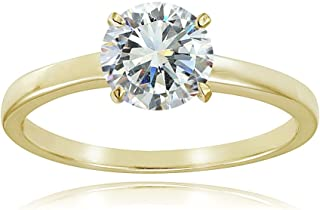 1 carat solitaire gold ring