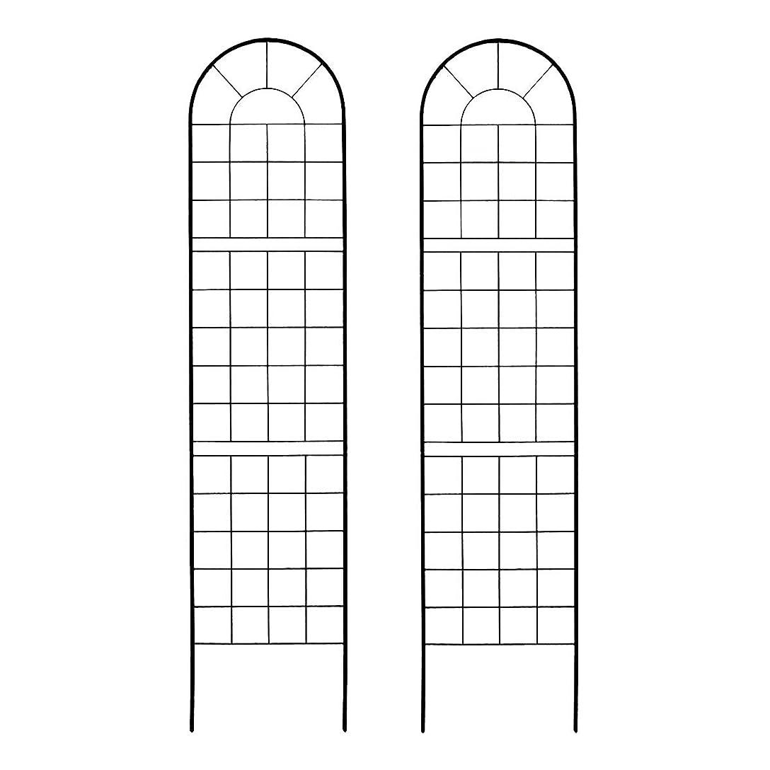 トロピカル等シェーバークラシックフェンス220 ハイタイプ 2枚組 ブラック YB016H-2P-BLK(SST)