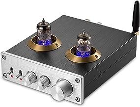 Nobsound Bluetooth Vacuum Tube Power Amplifier Class D HiFi Digital Audio Amp 100W (50W×2) (Silver)