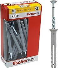 Fisher Pluggen Family 6X80 MM Grijs