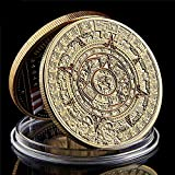 Strugglejewelry Mexico Mayan Aztec Calendar Art Prophecy Culture Challenge Coin