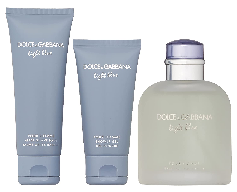 DOLCE GABBANA Light Blue Set Men de 1. Finally popular brand Fragrance Eau Toilette Charlotte Mall