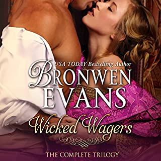 Wicked Wagers - The Complete Trilogy audiobook cover art