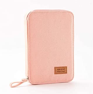 YWSCXMY-AU Pencil Bag Multi-Function Large Capacity Pen Box Storage Bag Cute Canvas Bag School Office Stationery (Color : Pink)