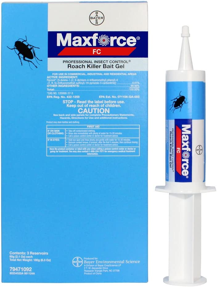 Maxforce Fc Roach Bait Gel Cheap mail order sales 3 60g Philadelphia Mall Syringes 1 Box