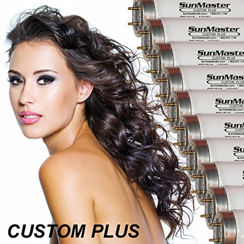 16 SunMaster Custom PLUS Tanning Lamps/Bulbs