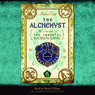 The Alchemyst     The Secrets of the Immortal Nicholas Flamel, Book 1              By:                                                                                                                                 Michael Scott                               Narrated by:                                                                                                                                 Denis O'Hare                      Length: 10 hrs and 2 mins     37 ratings     Overall 4.0
