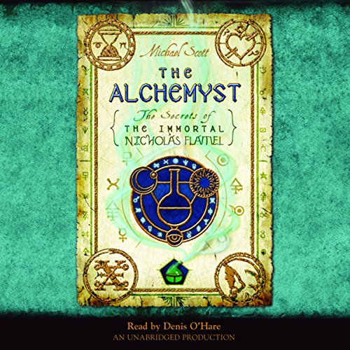 The Alchemyst audiobook cover art