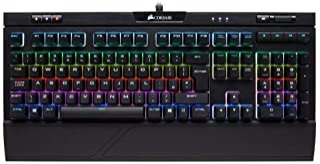 Corsair Strafe RGB MK.2 MX Silent- Teclado mecánico para Juegos (retroiluminación LED RGB, Cherry MX Silent, QWERTY Español) (CH-9104113-ES)