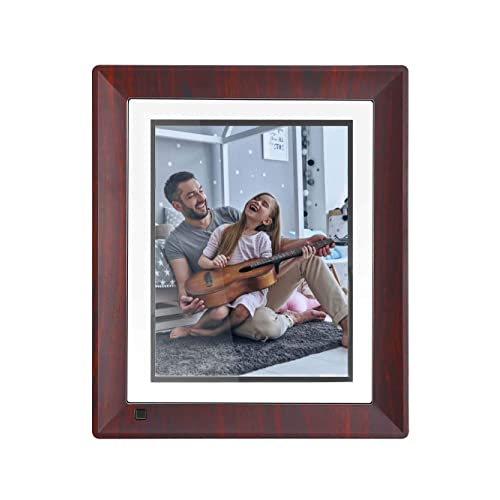 BSIMB Digital Picture Frame 9 Inch WiFi 16GB Digital Photo Frame 1067x800 IPS Touch Screen Auto Rotate Motion Sensor Add Photos/Videos from iOS & Android App/Twitter/Facebook/Email W09