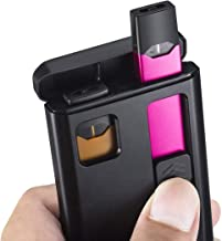 Charging Case Holder Portable Battery Pack Charging Device - Includes Charging Cable - Device and Pods Not Included (Black002)
