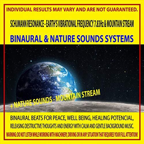 Schumann Resonance - Earth's Vibrational Frequency 7.83Hz & Mountain Stream