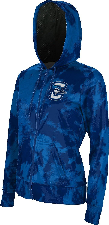 ProSphere Creighton University Girls' Zipper Hoodie, School Spirit Sweatshirt (Grunge)