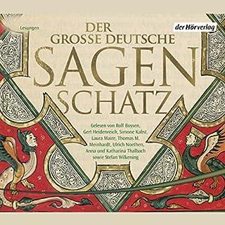 Der große deutsche Sagenschatz Titelbild