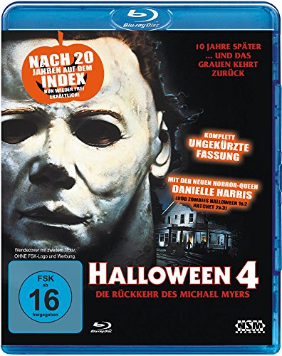 Halloween 4 (Blu-Ray) [Alemania] [Blu-ray]