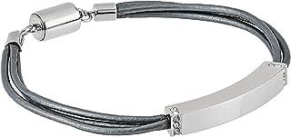 Fossil Arm Bracelets Stainless Steel for Women - 69BLRG/02-S