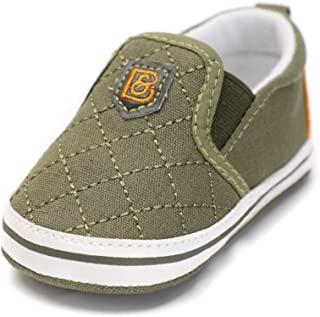Infant Baby Boy or Girl Cotton Slip-On Soft Sole Non-Slip Casual Shoes Sneakers