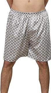 Men Pyjama Bottom Printing Home Sleepwear Shorts Pyjama Underwear Boxers Shorts Nightwear Elastic Waistband Pants