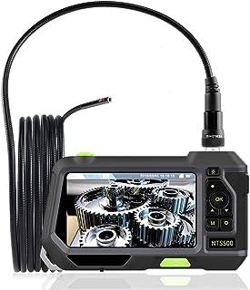 Teslong®【新開発】TFカード 工業内視鏡 二重カメラを搭載 長 3m直径 5.5mmデュアルカメラ 内視鏡ファイバースコープ 5インチスクリーン 管内カメラ ダイバー用装備品 撮影用等にご利用いただけます> ミニカメラ 水中カメラ 多機能内視鏡 5.5mm極細 360画面回転、IP67防水 いろんな場所に活躍 日本語説明書と日本語オペレーティングシステムが装備されています 1枚のメモリーカード(16G)が付属しています (3M-5.5mmデュアルカメラ )