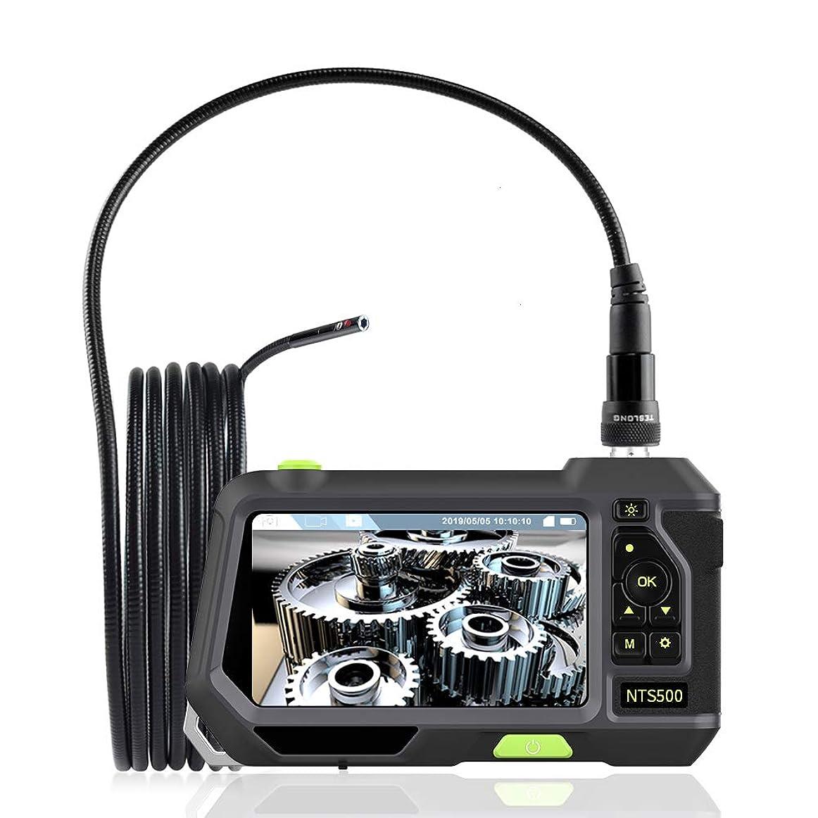 経済的溶岩感情Teslong?【新開発】TFカード 工業内視鏡 二重カメラを搭載 長 3m直径 5.5mmデュアルカメラ 内視鏡ファイバースコープ 5インチスクリーン 管内カメラ ダイバー用装備品 撮影用等にご利用いただけます> ミニカメラ 水中カメラ 多機能内視鏡 5.5mm極細 360画面回転、IP67防水 いろんな場所に活躍 日本語説明書と日本語オペレーティングシステムが装備されています 1枚のメモリーカード(16G)が付属しています (3M-5.5mmデュアルカメラ )