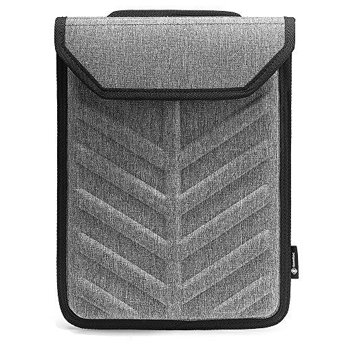 tomtoc 13-13,5 Zoll Laptop Eva Hartschale Sleeve Tasche kompatibel mit alt 13,3