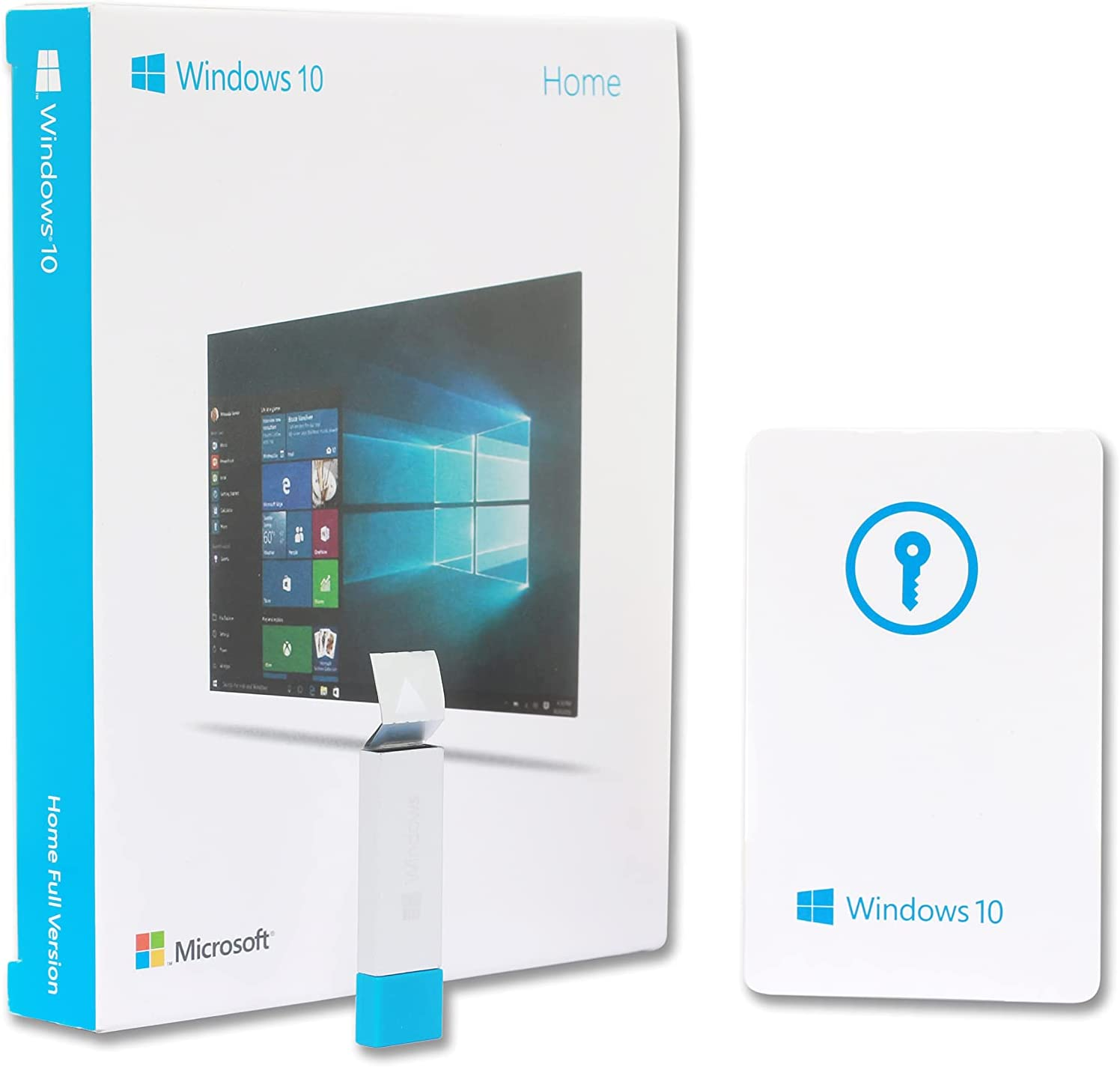 Windоw 10 HOME EDITION - 64 bit - with USB | the best quality product | for 1 PC only | OEM