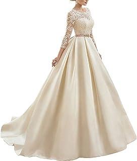 Pistachio Vestido Teñido De Dama Plisado Con Rayado Y Volante Mujer Grande (EU 44-46) Multicolor
