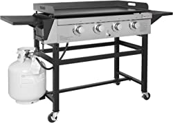 Propane Gas Grill Griddle Outdoor Flat Top