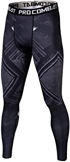 بنطلون رجالي من Jecool Black Panther Leggings Men Compression Jogging Pants New Skinny Sweatpants