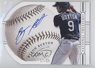 Byron Buxton #17/25 (Baseball Card) 2014 Panini National Treasures - Baseball Signature Die-Cuts #14