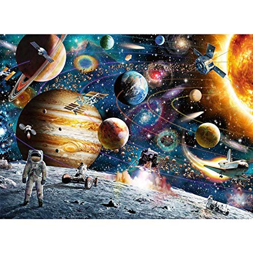 CofunKool Jigsaw Puzzles Planetas Espaciales 1000 Piezas Puzzle para Adultos, 70 x 50 cm