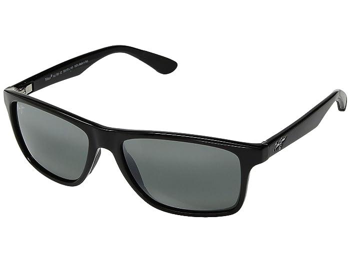 Maui Jim  Onshore (Gloss Black/Neutral Grey) Fashion Sunglasses