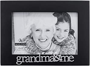 Malden International Designs Grandma and Me Expressions Picture Frame, 4x6, Black