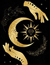 Wicca Book Of Shadows Journal: Record Rituals, Tarot Readings, Weekly Moon Cycles, Crystal Spells, Herbs, Tinctures & Potions