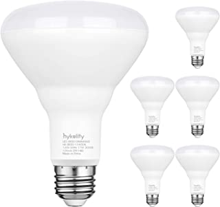 6 Pack Flood Light Bulb, BR30 LED Bulb for Indoor/Outdoor Downlight Recessed Can Light, Dimmable, 11W=75W, 3000K Warm White, 850lm, E26 Base, UL Listed