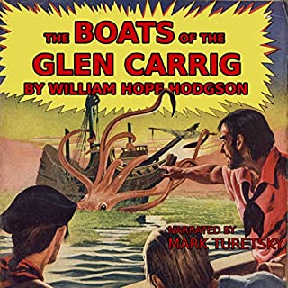 The Boats of the Glen Carrig audiobook cover art