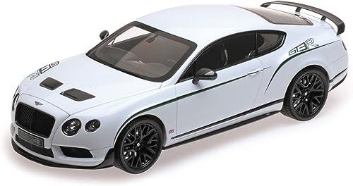 barato y de alta calidad Almost Real 1 18 18 18 Scale Metal Model 830401 Bentley Continental GT3-R 2015 - blanco  genuina alta calidad