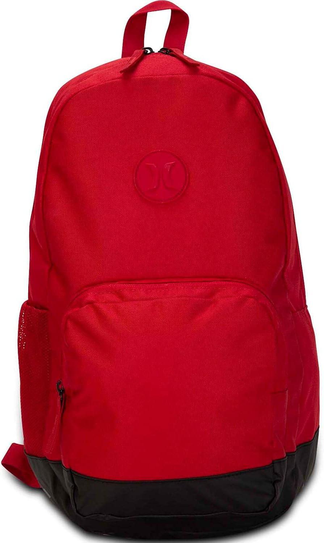 Hurley Blockade II Solid 21L Backpack - Gym Red