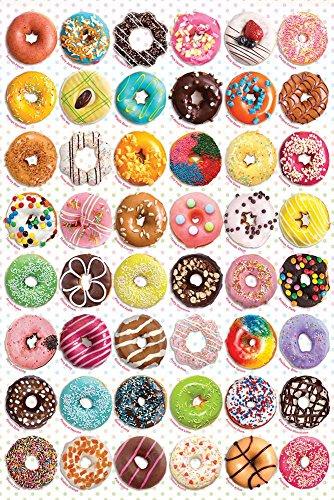 empireposter Cupcakes - Donuts Tops - Küche Haushalt - Poster Plakat Druck - Größe 61x91,5 cm