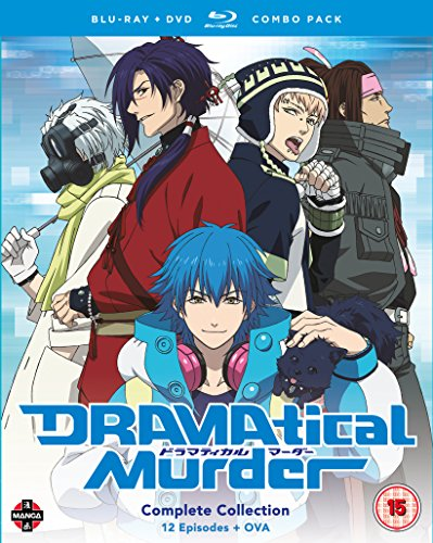 DRAMAtical Murder Complete Season Blu-ray/DVD Combo [UK Import]