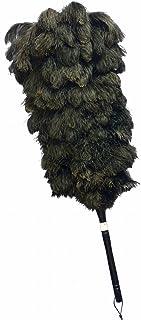 オーストリッチ毛ばたき 竹 ブラック