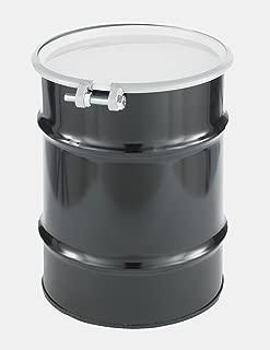 SKOLNIK Carbon Steel Open Head Drum, 10 gallons, Bolt Ring, 0.9mm Body Gauge (Pack of 1)