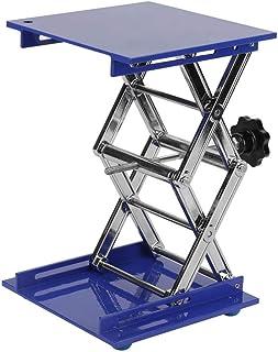 Plataforma Lab, Akozon 7.9x7.9'' Scientific Lab Laboratory Scissor Jack, Plataforma de elevación de laboratorio de acero i...