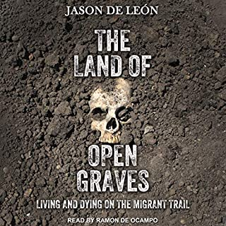 The Land of Open Graves audiobook cover art