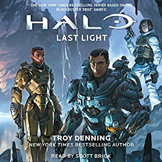 Last Light audiobook cover art