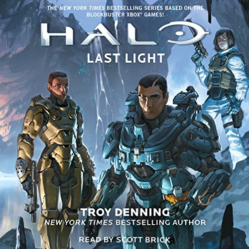 Last Light Audiobook By Troy Denning cover art